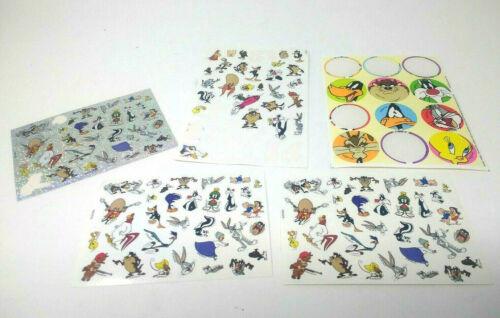 Vintage 1996 & 1997 Looney Tunes Warner Bros Sticker Lot