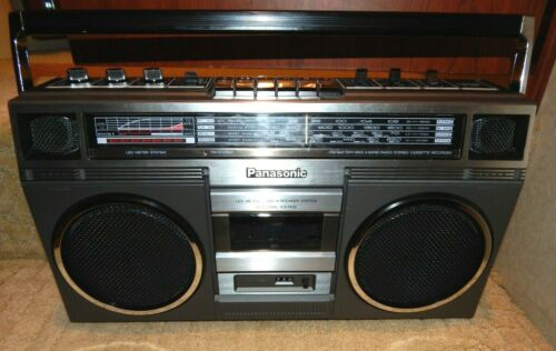 Vintage Panasonic RX-5031 Boombox Tested Working Cassette 4 Band Radio Japan
