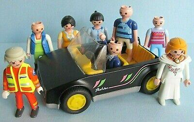 Playmobil Geobra Incomplete Lot ~ Fashion Car 1988 & 8 Figures 90's - 00's Beach for sale  Toronto