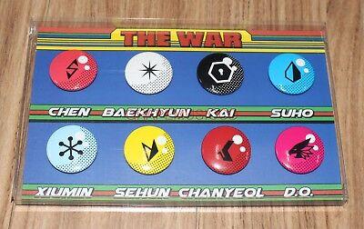 EXO THE POWER OF MUSIC SMTOWN COEX Artium SUM GOODS SUPER POWER PIN BUTTON SET