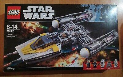 LEGO Star Wars Y-Wing Starfighter (75172) - inc Box, Manual + Minifigs