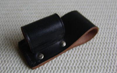 Holster für Schlagstock, Polizeistock,Polizeiknüppel.Leder.Größe-2 Länge 10,5cm