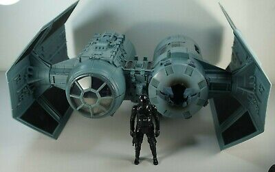 STAR WARS IMPERIAL TIE BOMBER & TIE Fighter Pilot Space Ship Loose