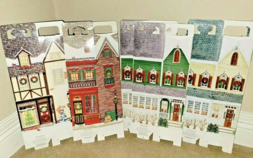 Byers Choice LOT/12 SINGLE  New Village Gift Boxes Storage Display