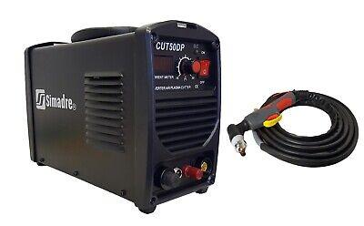 Plasma Cutter Simadre 50dp Pilot Arc 50a 110220v 14mm Clean Cut Sim-p60 Torch