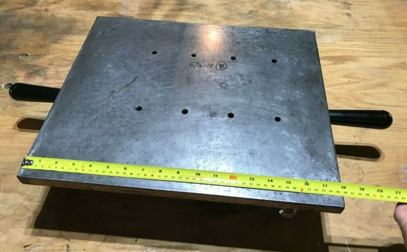 """Albert Reich Cast Iron Master Surface Plate or Inspection Plate 15""""x18"""" Lapping"""