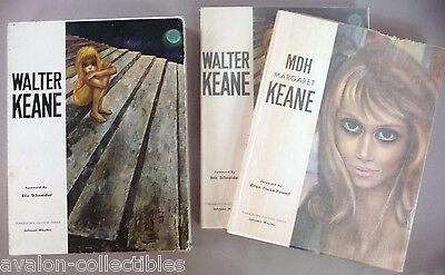 Walter & Margaret Keane  Tomorrow's Masters  2 Vol's w/dj's & Slipc 1964 1st Edt