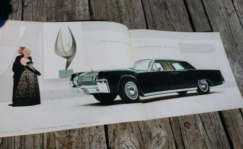 1963 Lincoln Continental Dealer Sales Brochure ~ Original