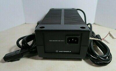 Motorola Hpn4001b Ae210-3101 Radio Power Supply 120 Vac 14.1 Vdc 8-15 A