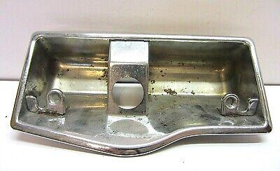 OEM Chrome Ashtray Vtg Art Rat Rod Car Part Retro