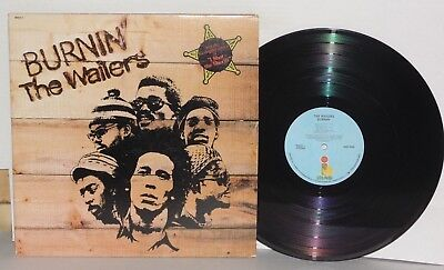 THE WAILERS Burnin' LP Vinyl Gatefold Island Bob Marley Peter Tosh Bunny Wailer  for sale  Los Angeles