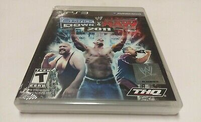 WWE SmackDown vs. Raw 2011 (Sony PlayStation 3, 2010) PS3 NEW segunda mano  Embacar hacia Argentina