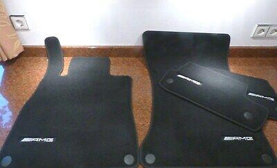 NEU $$$ BLAU $$$ Rips Fußmatten passend für Mercedes Benz W140 SEL S-Klasse