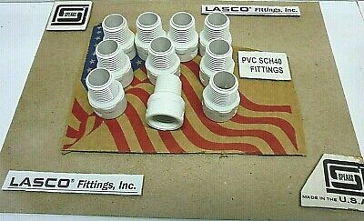 10 12 Male X Fipt Riser Pvc Schedule 40 Made In Usa Plumbing Pipe Fitting