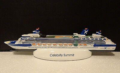 Celebrity Cruises Summit Ships Model 2001 Celebrity Cruises Resin 10  New In Box