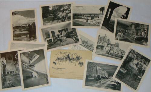 VINTAGE 1930s BILTMORE HOUSE & GARDEN SOUVENIR PICTURE PACK IN ENV! ASHEVILLE NC