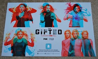 SDCC 2018 EXCLUSIVE FOX MARVEL THE GIFTED POSTER