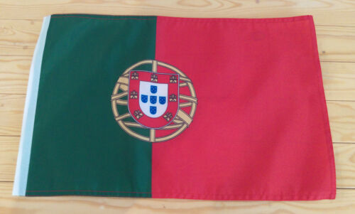 "PORTUGAL FLAG - 45cm x 30cm - 18"" x 12""  - Portuguese flag"