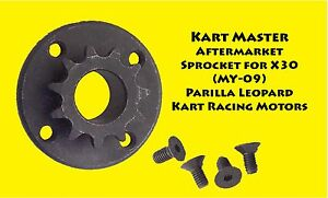 IAME-X30-Parilla-Leopard-Engine-Sprocket-10T-11T-12T-AfterMarket-X30-MY09
