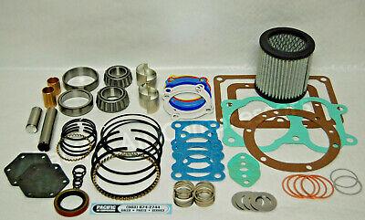 Quincy 350 104 Major Overhaul Kit Gasket Piston Rings Valves Air Compressor Part