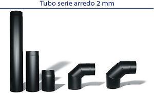 Diametro 160 tubi e accessori scarico fumi per stufe a - Tubi per stufe a legna prezzi ...