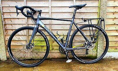 Gravel / Cyclocross bike - Boardman 56 Ali frame - mech disc brakes - new parts