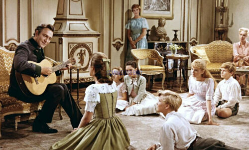THE SOUND OF MUSIC JULIE ANDREWS CHRISTOPHER PLUMMER GREAT PHOTO
