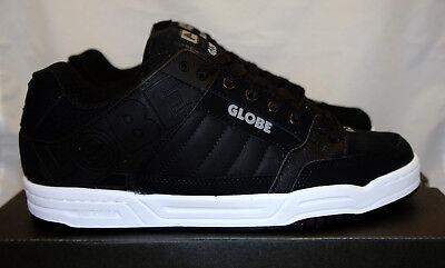GLOBE Tilt Black White Size 11 New Sneaker Skateboard Shoes