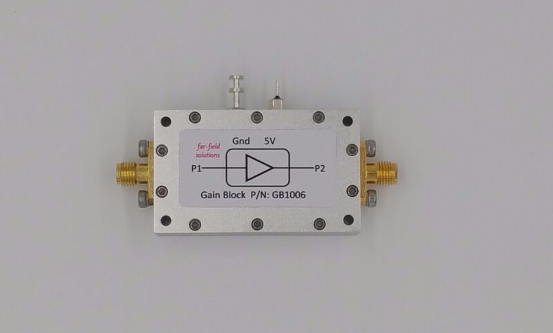100MHz to 6GHz Broadband RF Microwave Amplifier