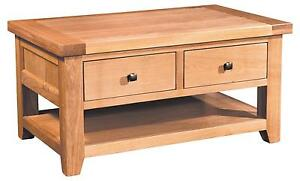 Large Solid Oak Coffee Tables