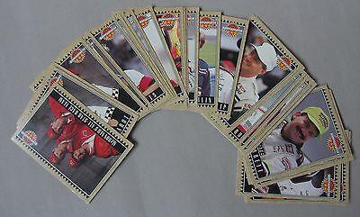 McDonalds - NASCAR - All Star Race Team Cards - Full set of 36 cards - 1992