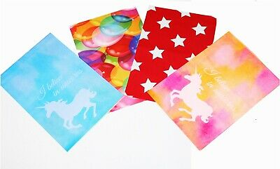 100 Pcs 10x13 Red Blue Pink Yellow Designer Mailers Poly Shipping Envelopes