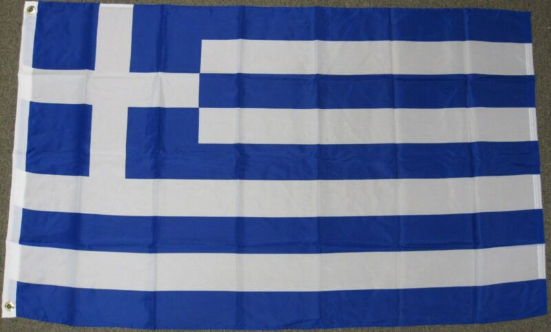3X5 GREECE FLAG GREEK FLAGS EUROPEAN NEW BANNER F153
