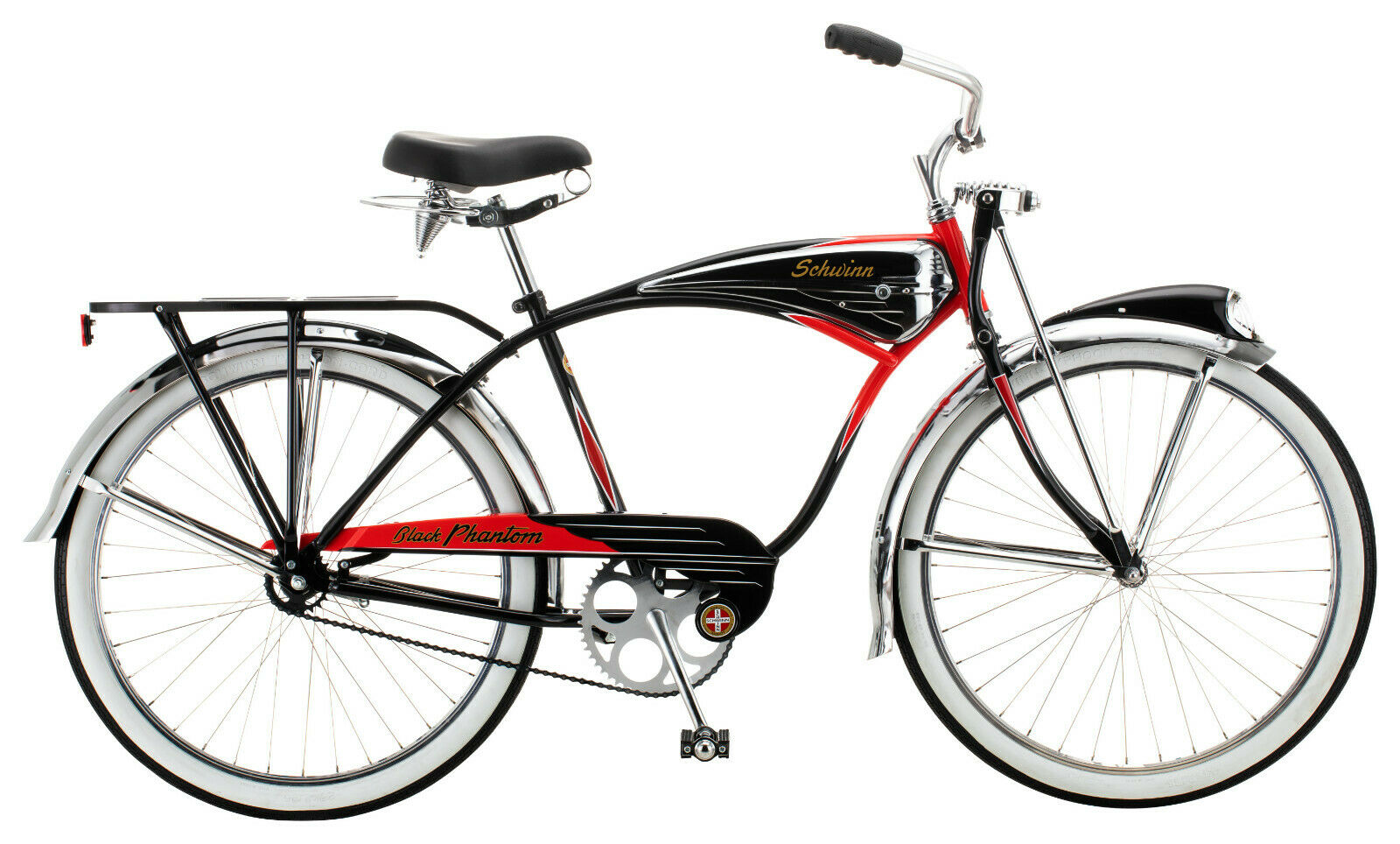 Schwinn Black Phantom Cruiser Bike, single speed, 26-inch wheels 125 Anniversary (New - 1199.99 USD)