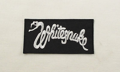 WHITESNAKE  Embroidered Iron On Sew On Patch  Rock Band