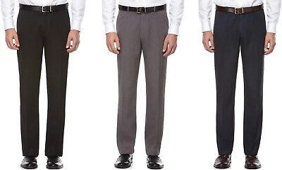 Perry Ellis Portfolio Dress Pants Mens Modern Fit Melange Travel Luxe Flat-Front