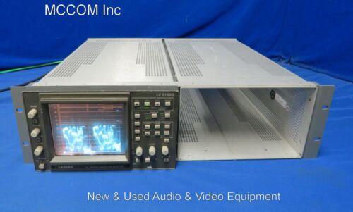 Leader LV 5152D HD Digital Waveform Vector Monitor AS IS