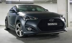 2014 Hyundai Veloster SR TURBO Matte Grey plus $3,500 Extras incl Canterbury Canterbury Area Preview
