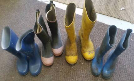 Collection of Gum Boots