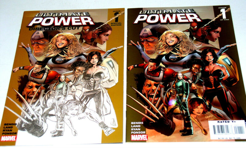 ULTIMATE POWER #1  DIRECTOR'S CUT VERSION & REGUALR EDITION