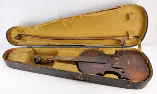 """Antique La Concerto Violin. Full size 4/4, 23 1/2"""" long. V5.(BI#MK/171103)"""