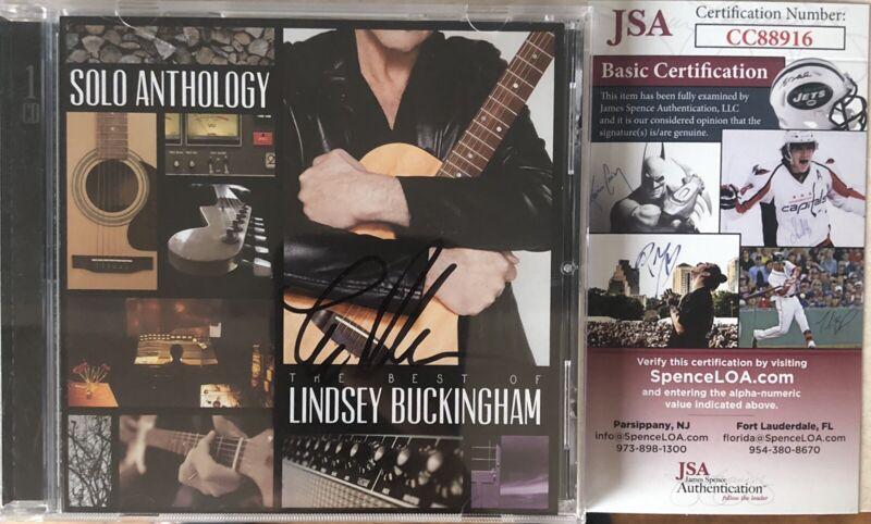 Lindsey Buckingham Signed Autographed Best Of CD JSA COA Fleetwood Mac