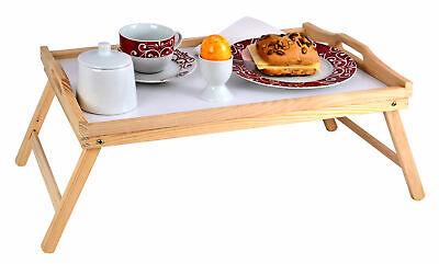 Serviertablett Holz Betttablett Frühstückstablett Holztablett Frühstückstisch