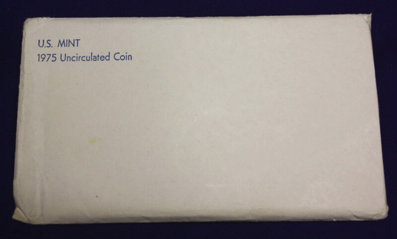 1975 UNCIRCULATED Genuine U.S. MINT SETS ISSUED BY U.S. MINT