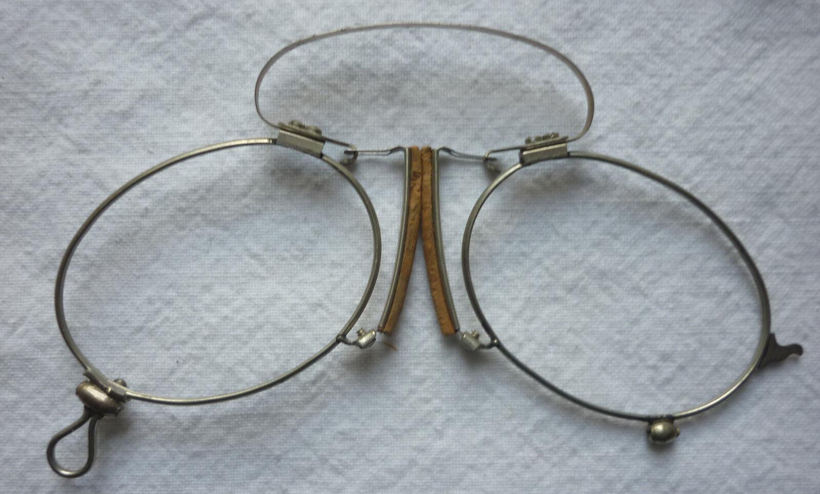 15. ZWICKER KNEIFER ohne Glas vor 1945 aus Optiker Nachlaß