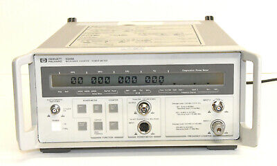 Hp Agilent 5348a 10 Hz To 26.5 Ghz Microwave Counter Power Meter