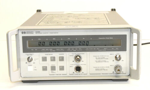 HP / Agilent 5348A 10 Hz to 26.5 GHz Microwave Counter / Power Meter