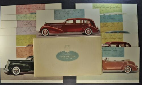1937 Cadillac Fleetwood Portfolio 13 Plates Town Sedan Limo Excellent Original