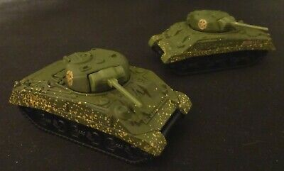 Matchbox 1998 M4A3 Sherman Tank 51 - In Sealed display Case 16+ Years