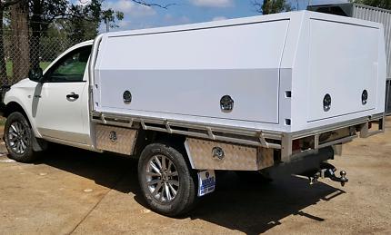 New  jackoff aluminium ute canopy 1800x1800x860x2.5